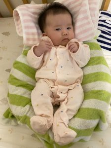 赤ちゃん姿勢