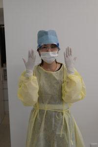 型コロナウイルス対策、滅菌、消毒、歯科医院、歯医者、マイクロスコープ